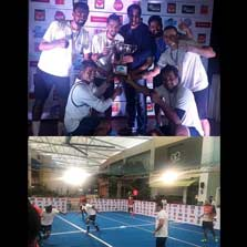 ZEE emerges victorious at the 10th Saran Corporate Indoor Soccer tournament 2017!