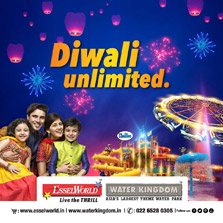 This Diwali catch a glimpse of India at EsselWorld with its 'Diwali Unlimited' extravaganza