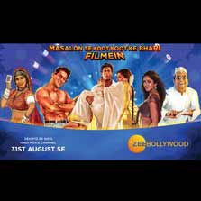 Experience 101% Shuddh Bollywood with 'Zee Bollywood' - A New Hindi Movie Channel