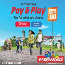 EsselWorld launches new pricing model - Pay & Play