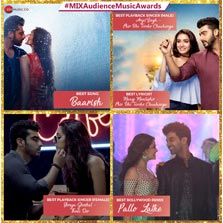 Zee Music wins big at Sony Mix Audience Music Awards
