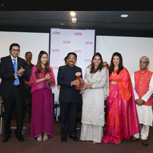 Mrs. Navyata Goenka honoured with the Young Women Achievers' Award by ISDI & ISME