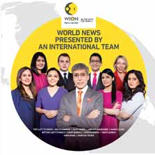 Global English News Network, WION announces its Official Launch