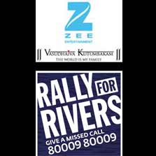 ZEE Entertainment joins hands with Isha Foundation to 'Rally For Rivers'