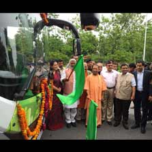 Essel Infraprojects Ltd launches its Electric Vehicle Charging and Battery Swapping Infrastructure initiative under Essel Green Mobility Limited in Uttar Pradesh