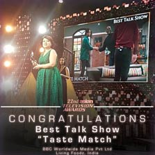 2017 Asian Television Awards: Living Foodz' Taste Match bags the award for 'The Best Talk Show'