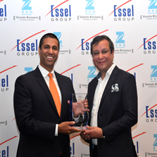 ZEE Entertainment confers the inaugural 'ZEE Entertainment National Leadership Award' on Mr. Ajit Pai, Chairman of the Federal Communications Commission (FCC) in the US
