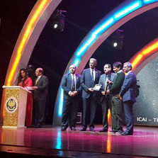 ZEEL President - Legal & Regulatory Affairs, Mr. Avnindra Mohan conferred the prestigious 'CA Distinguished Achiever - 2017' Award by ICAI