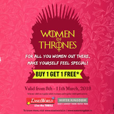 Women's Day Offer at EsselWorld and Water Kingdom
