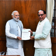 Hon'ble Prime Minister of India, Shri Narendra Modi applauds Rajya Sabha MP and Essel Group Chairman's Dr Subhash Chandra's donation to PM's National Relief Fund