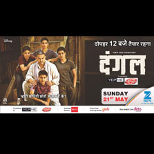 Dangal on Zee TV is the highest-rated World Television Premiere across GECs of the Year