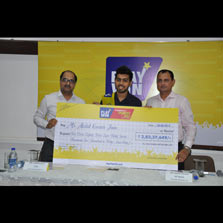Playwin felicitates its 96th jackpot winner with winnings of Rs. 2.83 Crores!