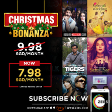 ZEE5 plays Santa for audiences in Australia and Singapore: launches the 'Christmas Bonanza' with a whopping 20% discount offer