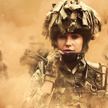 Witness the challenges of the battlefield across treacherous terrains with the BBC First drama 'Our Girl' on Zee Café