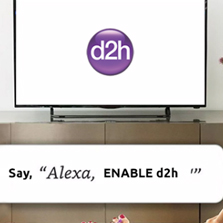 d2h skill introduced on Amazon Alexa in India