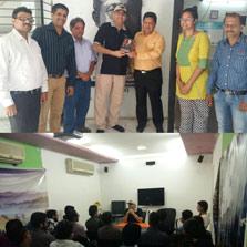 ZIMA Mumbai students' Bollywood connect with Mr. Viveck Vaswani