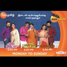 Zee Tamil makes history by extending its fiction band to all 7 days of the week!