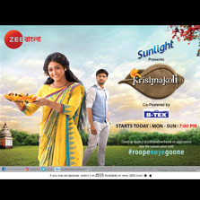 Zee Bangla and Tent Cinema come together for a brand new show, Krishnokoli
