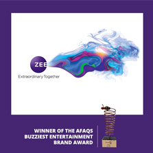 Zee Entertainment Awarded India's Buzziest Brand of the Year
