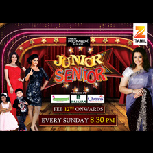 Zee Tamil to launch its new acting talent show 'Junior Senior' on 12th February