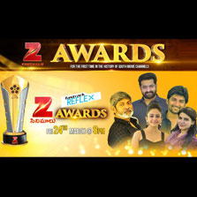 Zee Cinemalu becomes the first South Indian Movie channel to introduce awards with 'Zee Cinemalu Awards' on March 24th at 8pm