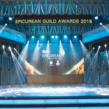 Living Foodz raises a Toast to India's finest restaurants, night life and entertainers at the Epicurean Guild Awards 2018