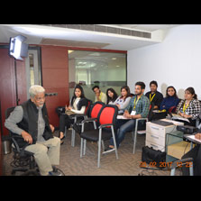 Subhash Chaturvedi unveils the nuances of fiction writing in a Scriptwriting Workshop at ZIMA Noida