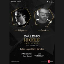 India's longest party marathon brings progressive house DJ and producer Sartek and DJ Ajmal to the Soul of South India
