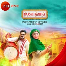 Zee Bangla's newest offering, 'Nakshikantha' to launch on 12th November