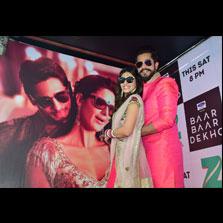 Zee Cinema's marketing punch for the World Television Premiere of 'Baar Baar Dekho'