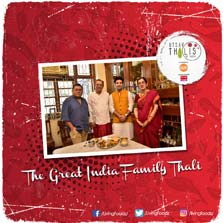 Discover Your Roots with Chef Kunal on Utsav: Thalis of India - Living Foodz' new show will bring the best regional delicacies together on a platter