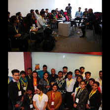 Dr. Vikrant Kishore from Australia conducts a Video Production Workshop at ZIMA Noida