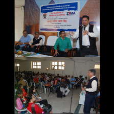ZIMA organizes an intensive workshop for students of KCES Group's institutes at Jalgaon