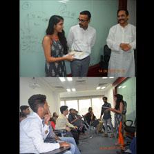 Respect and learn Indian languages, senior ZEE Media journalist Daya Shankar advises ZIMA Noida students
