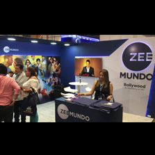 Zee Mundo participates in one of South America's largest trade shows