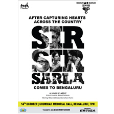 Makarand Deshpande & Aahana Kumra perform for Bengaluru for the first time