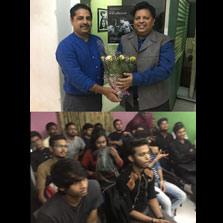 Students of ZIMA, Mumbai students interact with Zafar Anjum, prolific filmmaker and founder of Filmwallas.com