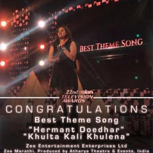 Zee Marathi wins 'Best Theme Song' at Asian Television Awards