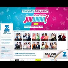 Zee TV Launches India's First Online Twin Community for 'India's Best Judwaah'