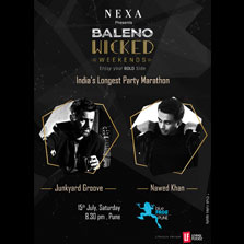 India's Longest Party Marathon brings Junkyard Grooves catchy hooks and Nawed Khans mixes to Blue Frog