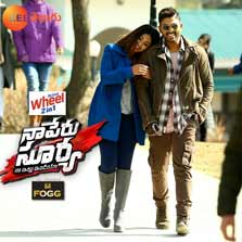 Zee Telugu to telecast the World Television Premiere of Allu Arjun starrer - Naa Peru Surya this Sunday