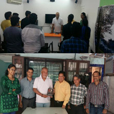 ZIMA Mumbai honored to host an interaction with Sunil Thapa, an actor of international repute