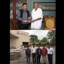 ZIMA explores synergies with Film Doyen, Mr. Ramoji Rao at Ramoji City, Hyderabad during an in-depth seminar