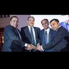 Neeraj Dhingra, CEO - ZEE Europe, awarded at British Asian Achievers Awards 2016