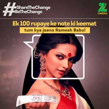 Zee Cinema launches a special campaign to create awareness on DeMonetisation with