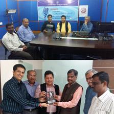 Leadership team of ZIMA visits Yashwantrao Chavan Maharashtra Open University (YCMOU) at Nashik