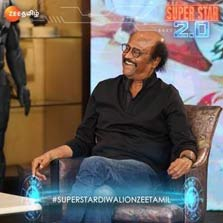 Superstar Rajinikanth on Zee Tamil