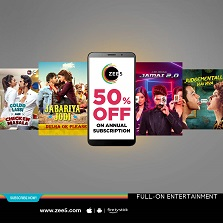 ZEE5 Global registers a huge surge in subscription revenues with their festive pack offer