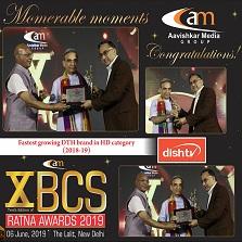 Dish TV continues its winning streak at BCS Ratna Award 2019