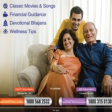 Dish TV introduces 'Ayushmaan Active' service for senior citizens